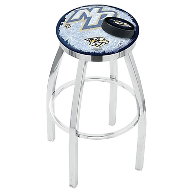 Holland Bar Stool NHL Swivel Bar Stool w/ Cushion; Nashville Predators