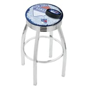 Holland Bar Stool NHL 25'' Swivel Bar Stool w/ Cushion; New York Rangers