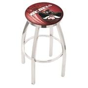 Holland Bar Stool NCAA 30'' Swivel Bar Stool w/ Cushion; UNLV Runnin' Rebels
