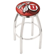Holland Bar Stool NCAA 30'' Swivel Bar Stool w/ Cushion; Utah Utes