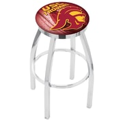 Holland Bar Stool NCAA 30'' Swivel Bar Stool w/ Cushion; USC Trojans