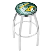 Holland Bar Stool NCAA 25'' Swivel Bar Stool w/ Cushion; Northern Michigan University