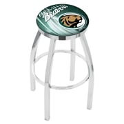 Holland Bar Stool NCAA 25'' Swivel Bar Stool w/ Cushion; Bemidji State Beavers