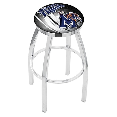 Holland Bar Stool NCAA 30'' Swivel Bar Stool w/ Cushion; Memphis Tigers