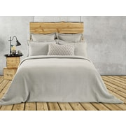 Brunelli Rustic Cotton and Polyester  Euro Pillow