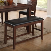 Best Quality Furniture Wooden Upholstered Dining Bench