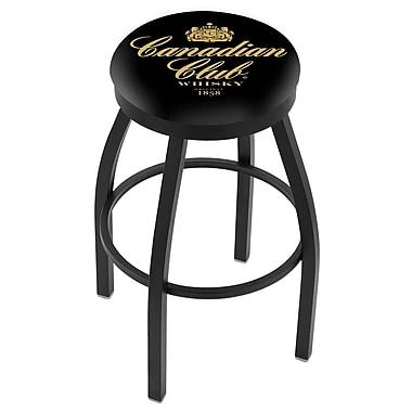 Holland Bar Stool 36'' Swivel Bar Stool; Black