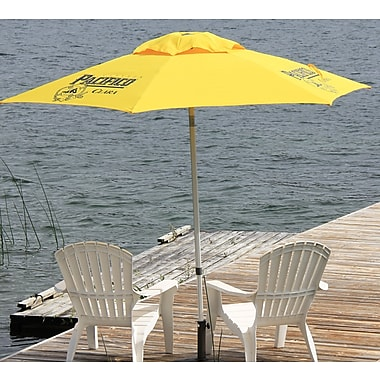 Heininger 8.5' Pacifico Beer Push-Up Market Umbrella
