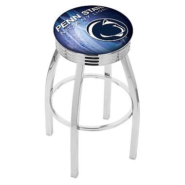 Holland Bar Stool NCAA 30'' Swivel Bar Stool w/ Cushion; Penn State Nittany Lions