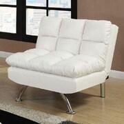 A&J Homes Studio Montecito Adjustable Convertible Chair; White