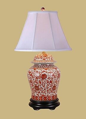 East Enterprises Inc 30'' Table Lamp; LED/Compact Fluorescent