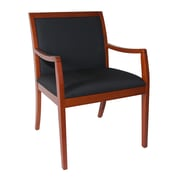 Furniture Design Group Rex Wooden Lounge Chair; Cherry