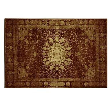 Bacova Guild Traditions Malak Red Area Rug; 5' x 7'3''