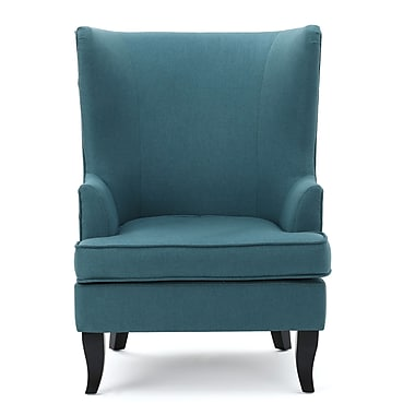 Alcott Hill Daughtrey Wingback Chair; Gray