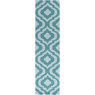 Artistic Weavers Impression Whitney Hand-Tufted Teal Area Rug; 5' x 8'