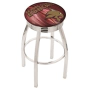 Holland Bar Stool NCAA 25'' Swivel Bar Stool w/ Cushion; Texas State Bobcats