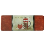 Bacova Guild French Roast Memory Foam Kitchen Mat