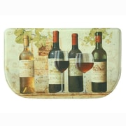 Bacova Guild Wine Tasting Memory Foam Slice Kitchen Mat