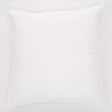 Brunelli Lino Linen Throw Pillow; White