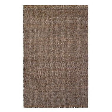 Fab Habitat Heartland 8' x 10' Hand-Woven Brown Area Rug