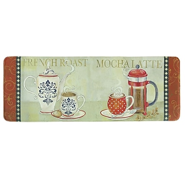 Bacova Guild French Duo Memory Foam Kitchen Mat