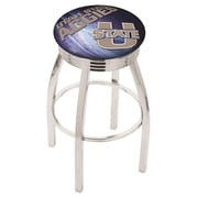 Holland Bar Stool NCAA 30'' Swivel Bar Stool w/ Cushion; Utah State Aggies