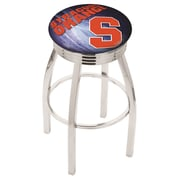 Holland Bar Stool NCAA 30'' Swivel Bar Stool w/ Cushion; Syracuse Orange