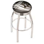 Holland Bar Stool NCAA 30'' Swivel Bar Stool w/ Cushion; Vanderbilt Commodores