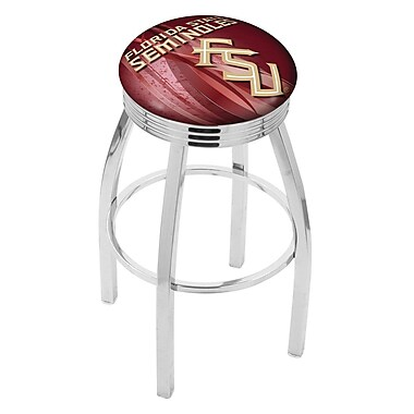 Holland Bar Stool NCAA 25'' Swivel Bar Stool w/ Cushion; Florida State Seminoles