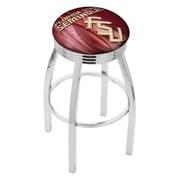 Holland Bar Stool NCAA 30'' Swivel Bar Stool w/ Cushion; Florida State Seminoles