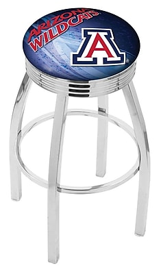 Holland Bar Stool NCAA 25'' Swivel Bar Stool w/ Cushion; Arizona Wildcats