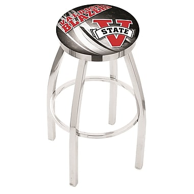 Holland Bar Stool NCAA 25'' Swivel Bar Stool w/ Cushion; Valdosta State Blazers
