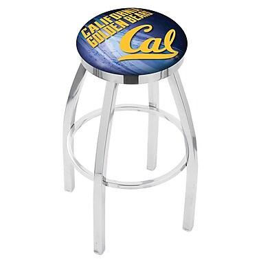 Holland Bar Stool NCAA 30'' Swivel Bar Stool w/ Cushion; California Golden Bears