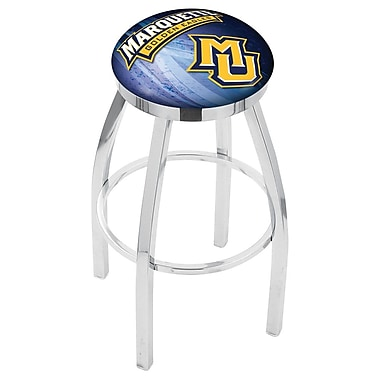 Holland Bar Stool NCAA 30'' Swivel Bar Stool w/ Cushion; Marquette Golden Eagles