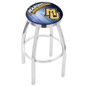 Holland Bar Stool NCAA 25'' Swivel Bar Stool w/ Cushion; Marquette Golden Eagles