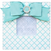 Renditions by Reesa Trellis Embellished Picture Frame; Aqua