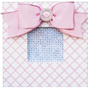 Renditions by Reesa Trellis Embellished Picture Frame; Pink