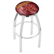 Holland Bar Stool NCAA 25'' Swivel Bar Stool w/ Cushion; Minnesota Golden Gophers
