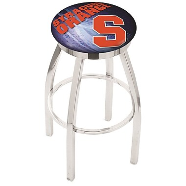 Holland Bar Stool NCAA 30'' Swivel Bar Stool w/ Cushion; Syracuse Orange