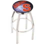 Holland Bar Stool NCAA 25'' Swivel Bar Stool w/ Cushion; Syracuse Orange