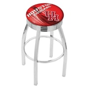 Holland Bar Stool NCAA 30'' Swivel Bar Stool w/ Cushion; Houston Cougars