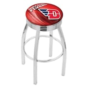 Holland Bar Stool NCAA 30'' Swivel Bar Stool w/ Cushion; Dayton Flyers