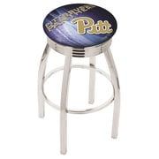 Holland Bar Stool NCAA 30'' Swivel Bar Stool w/ Cushion; Pittsburgh Panthers