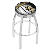 Holland Bar Stool NCAA 30'' Swivel Bar Stool w/ Cushion; UCF Knights