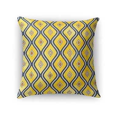 Kavka Verona Burlap Throw Pillow; 18'' H x 18'' W x 5'' D
