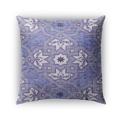 Kavka Baktiar Burlap Indoor/Outdoor Throw Pillow; 16'' H x 16'' W x 5'' D