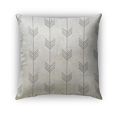 Kavka Afternoon Shower Burlap Indoor/Outdoor Pillow; 18'' H x 18'' W x 5'' D