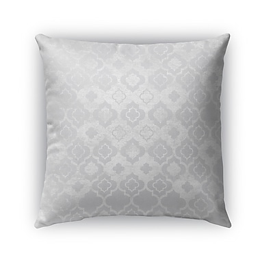Kavka Ancona Burlap Indoor/Outdoor Throw Pillow; 16'' H x 16'' W x 5'' D