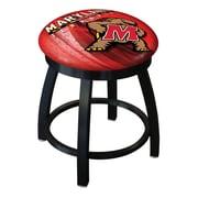 Holland Bar Stool NCAA Swivel Bar Stool; Maryland Terrapins
