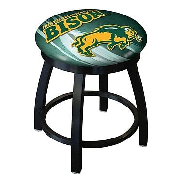 Holland Bar Stool NCAA Swivel Bar Stool; North Dakota State Bison - Green